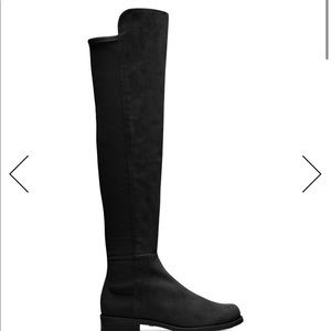 Stuart Weitzman Suede 50/50 boots - perfect